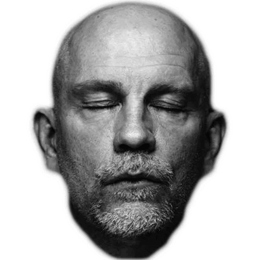 Image result for john malkovich white background